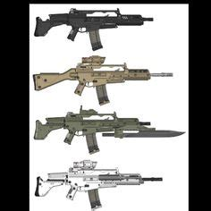 akc  improved version   belgian assault rifle fn