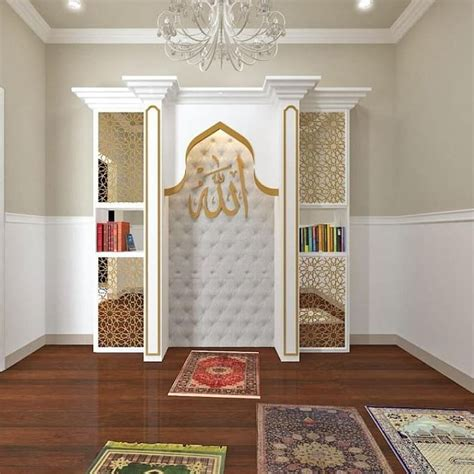 desain mushola  rumah minimalis modern