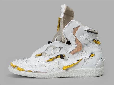 maison margiela destroyed future sneaker sole collector
