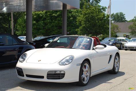 2008 Porsche Boxster S In Carrara White