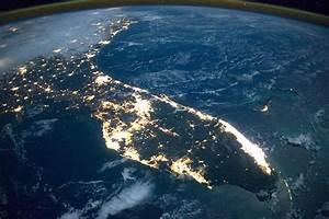 NASA Takes Stunning Image of Florida Nighttime Coast