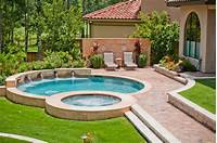 lovely patio design ideas photo gallery backyard-designs-with-pool-Pool-Mediterranean-with ...