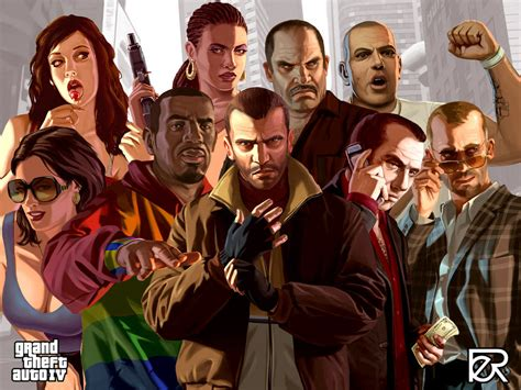 Gta Iv Characters By Leipeaap On Deviantart