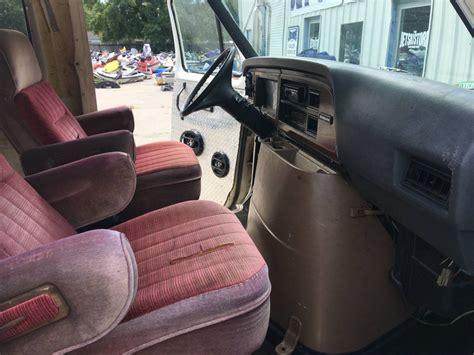 bangshiftcom  diesel ford van hauler    cheap