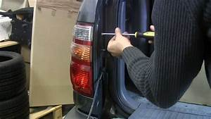 How To Replace Tail Light Bulbs Toyota Landcruiser Hdj 100