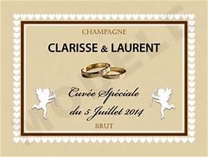 Etiquette Champagne Mariage : faites de votre mariage un v nement inoubliable paca entreprises ~ Teatrodelosmanantiales.com Idées de Décoration