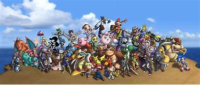 Smash Bros Super Brawl Deviantart Characters Nintendo