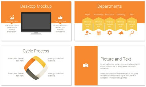 rocket powerpoint template presentationdeckcom