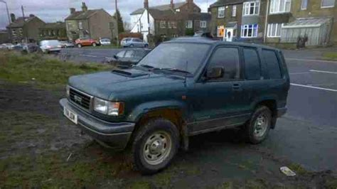 how can i learn about cars 1999 isuzu oasis electronic toll collection isuzu 1999 trooper 3 1 diesel turbo commercial van 4x4 off road on