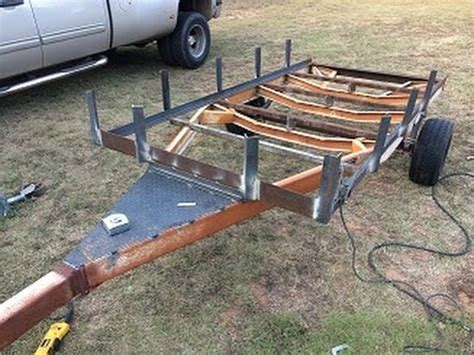 Turn A Boat Trailer Into A Utility Trailer by Guide How To Make A Boat Trailer Into A Utility Trailer