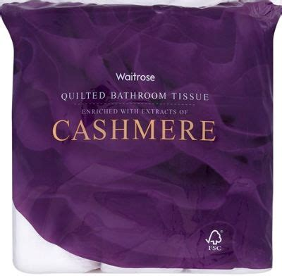"Cashmere Toilet Paper Cheaper Than Wiping With ""luxury"
