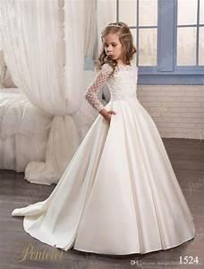 wedding dresses for little girls 2017 pentelei cheap with With cheap big girl wedding dresses