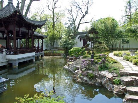 Chinesischer Garten Im Luisenpark In Mannheim Baden