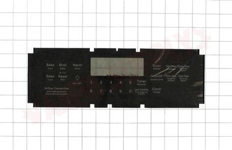 wsf ge range control overlay amre supply