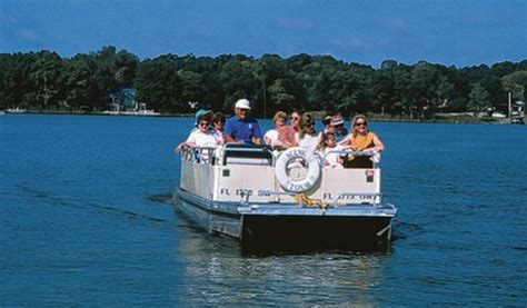 Lake Virginia Winter Park Boat Tour by Scenic Boat Tour Winter Park Florida Boat Ride Chain