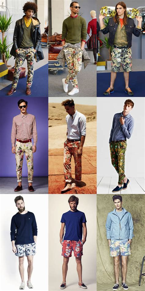 swim shorts for s floral print trend how to wear fashionbeans