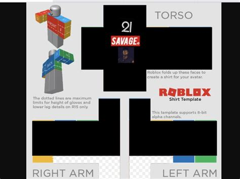 roblox template roblox shirt template