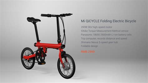 Xiaomi S Foldable Electric Bike Takes On Competition With