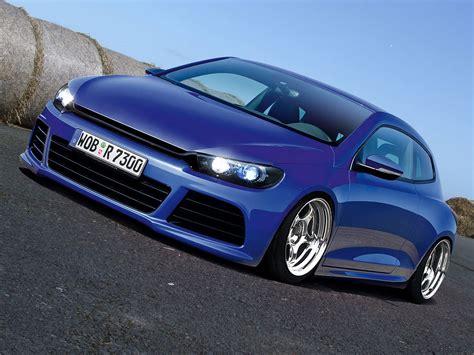 Fashion tuned cars: Volkswagen Scirocco amazing tuning