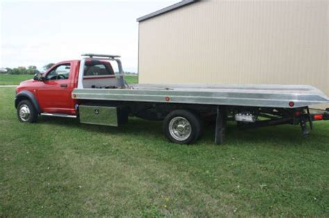 Sell Used Dodge Ram Roll Off Flatbed Tow Truck