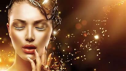 Gold Face Accessories Skin Woman Makeup Magic