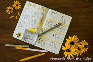 Bullet Journaling 101 - Tips for Beginners Postcards