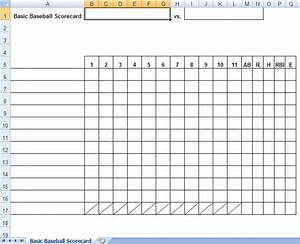Search results for printable baseball score sheets pdf for Baseball box score template