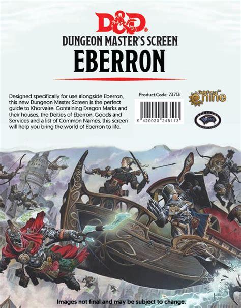 screen eberron rising dm dungeons dragons war dungeon master last gm