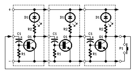 Wiring Schematic Diagram Guide Leds Lamps Sequencer Circuits