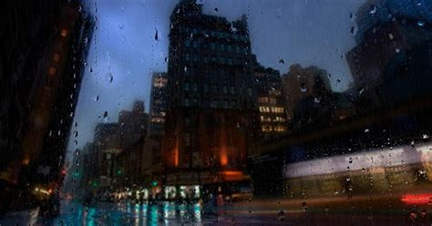 city   rain wallpaper engine  wallpaper
