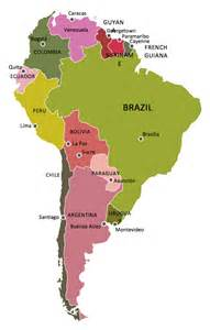 Draw South America Map