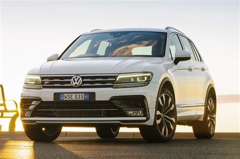 Sized Suv by 2017 Volkswagen Tiguan Seven Things To Like About This