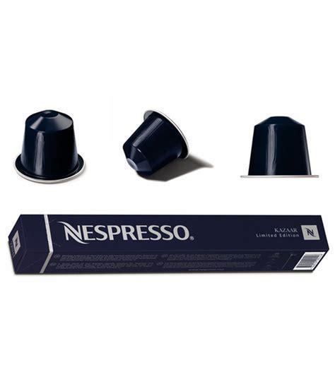 Nespresso Kazaar Coffee Capsule   50 Count Price in India