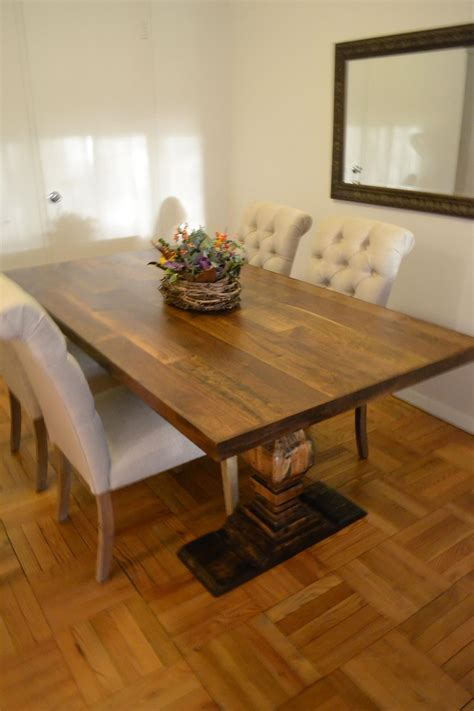 5 foot kitchen table made 5 foot dining room table mixed species wood