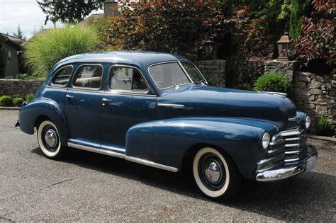 1947 Chevrolet (chevy) Fleetmaster 4-door Deluxe Sport