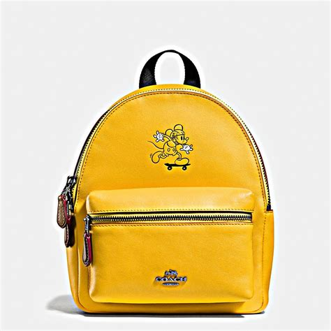 coach sling bag coach backpacks bags yellow lines coachdiscount