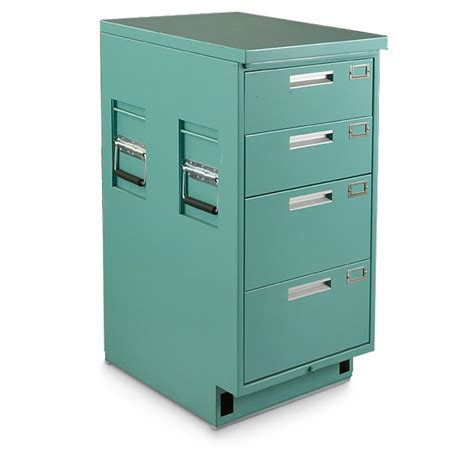 Medical File Cabinet used u s military surplus medical file cabinet 592327