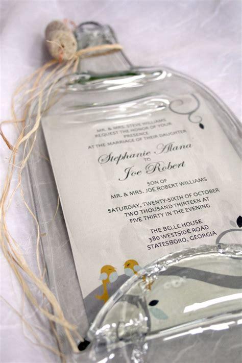 melted wine bottle  keepsake wedding