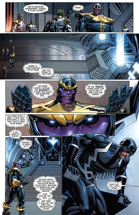 Thanos vs Team - Battles - Comic Vine
