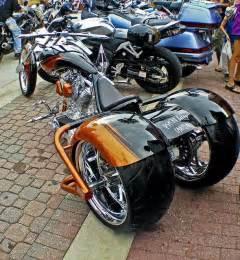 Custom Chopper Trike Motorcycle