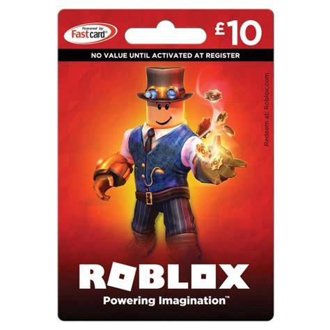 roblox card  credits  gaming gift cards uk