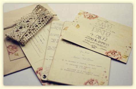 choose  invitation style vintage wedding invitations