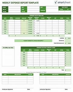 Travel Expenses Form Template Free Expense Report Templates Smartsheet
