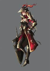 female armor designs | SP - Female Knight by *El-Seluvia ...