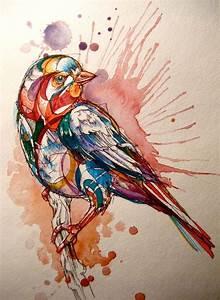 Modern Bird, reminds me of Folk Festival, Art | Ben Rogers ...
