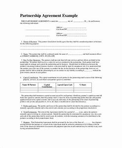 partnership agreement templates and tips business With corporate partnership agreement template