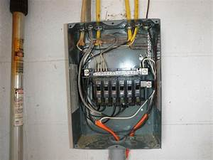 120 Volt Sub-panel  - Electrical Inspections