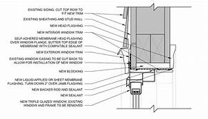 Sill, Head, and Jamb Details for New Windows in Old Holes