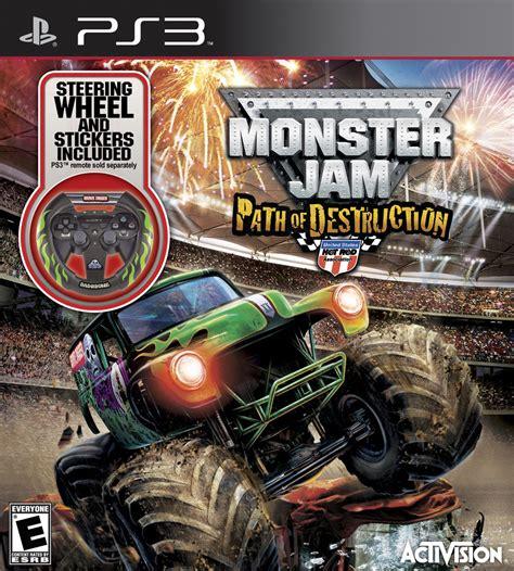 monster jam truck games monster jam 3 path of destruction with grave digger