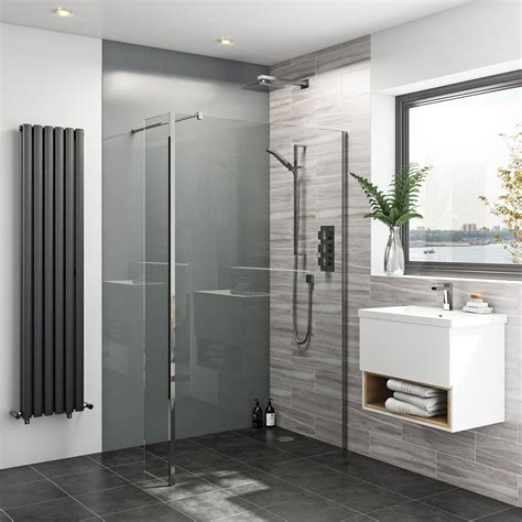 Tile Panels For Bathroom by Zenolite Plus Ash Acrylic Shower Wall Panel 2440 X 1220